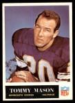 1965 Philadelphia #108  Tommy Mason  Front Thumbnail