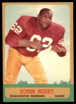 1963 Topps #163  John Nisby  Front Thumbnail