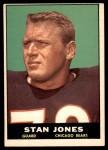 1961 Topps #14  Stan Jones  Front Thumbnail