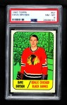 1967 Topps #57  Dave Dryden  Front Thumbnail