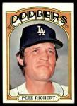 1972 Topps #649  Pete Richert  Front Thumbnail