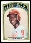 1972 Topps #476  Lee Richard  Front Thumbnail