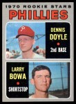 1970 Topps #539   -  Larry Bowa / Denny Doyle Phillies Rookies Front Thumbnail