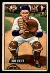 1951 Bowman #214  Bob Swift  Front Thumbnail
