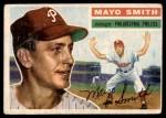 1956 Topps #60  Mayo Smith  Front Thumbnail