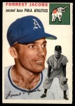 1954 Topps #129  Spook Jacobs  Front Thumbnail