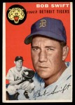 1954 Topps #65  Bob Swift  Front Thumbnail
