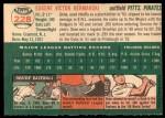 1954 Topps #228  Gene Hermanski  Back Thumbnail