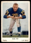 1959 Bell Brand Rams #26  Bob Fry  Front Thumbnail