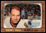 1966 Topps #112  Bobby Hull  Front Thumbnail