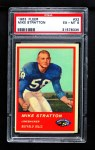 1963 Fleer #32  Mike Stratton  Front Thumbnail