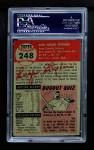 1953 Topps #248  Gene Stephens  Back Thumbnail