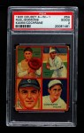 1935 Goudey  Mickey Cochrane / Willie Kamm / Muddy Ruel / Al Simmons  Front Thumbnail