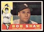 1960 Topps #380  Bob Shaw  Front Thumbnail