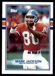 1989 Topps #242  Mark Jackson  Front Thumbnail