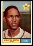 1961 Topps #391  Winston Brown  Front Thumbnail