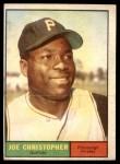 1961 Topps #82  Joe Christopher  Front Thumbnail