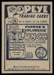 1959 Ad-Trix #38   Popeye & Bull Back Thumbnail