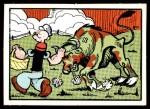 1959 Ad-Trix #38   Popeye & Bull Front Thumbnail