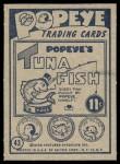 1959 Ad-Trix #43   Popeye & Swordfish Back Thumbnail