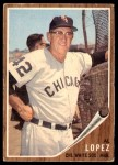1962 Topps #286  Al Lopez  Front Thumbnail