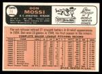 1966 Topps #74  Don Mossi  Back Thumbnail