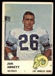 1961 Fleer #100  Jon Arnett  Front Thumbnail
