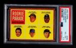 1962 Topps #598   -  Manny Jimenez / Jim Hickman / Ed Olivares / Howie Goss / Al Luplow Rookie Parade - Outfielders Front Thumbnail