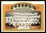 1972 Topps #522   Dodgers Team Front Thumbnail
