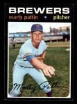 1971 Topps #579  Marty Pattin  Front Thumbnail