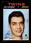 1971 Topps #568  Sal Campisi  Front Thumbnail