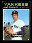 1971 Topps #28  Ron Klimkowski  Front Thumbnail