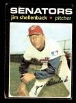 1971 Topps #351  Jim Shellenback  Front Thumbnail