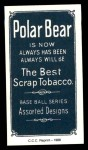1909 T206 Reprint #153  Hugh Duffy  Back Thumbnail