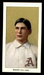 1909 T206 Reprint #34 POR Chief Bender  Front Thumbnail