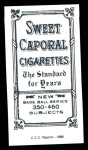 1909 T206 Reprint #333  Chief Meyers  Back Thumbnail