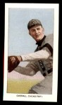 1909 T206 Reprint #374 W Orval Overall  Front Thumbnail