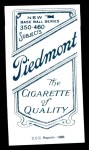 1909 T206 Reprint #302 PCH Rube Manning  Back Thumbnail