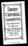1909 T206 Reprint #261 BAT Jack Knight  Back Thumbnail
