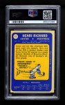 1969 Topps #11  Henri Richard  Back Thumbnail