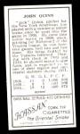 1911 T205 Reprint #160  Jack Quinn  Back Thumbnail