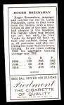 1911 T205 Reprint #23 CLS Roger Bresnahan  Back Thumbnail