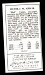 1911 T205 Reprint #32 BTH Hal Chase  Back Thumbnail