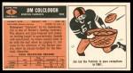1965 Topps #6  Jim Colclough  Back Thumbnail
