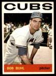 1964 Topps #96  Bob Buhl  Front Thumbnail