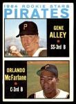 1964 Topps #509   -  Gene Alley / Orlando McFarlane Pirates Rookies Front Thumbnail