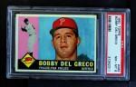 1960 Topps #486  Bobby Del Greco  Front Thumbnail