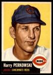 1953 Topps #236  Harry Perkowski  Front Thumbnail