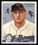 1934 Goudey Reprint #52  Herman Bell  Front Thumbnail