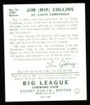 1934 Goudey Reprint #51  Rip Collins  Back Thumbnail
